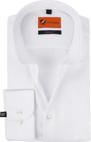 Suitable Overhemd SL7 Wit 180