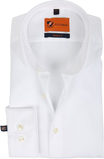 Suitable Overhemd SL7 Wit 180-1