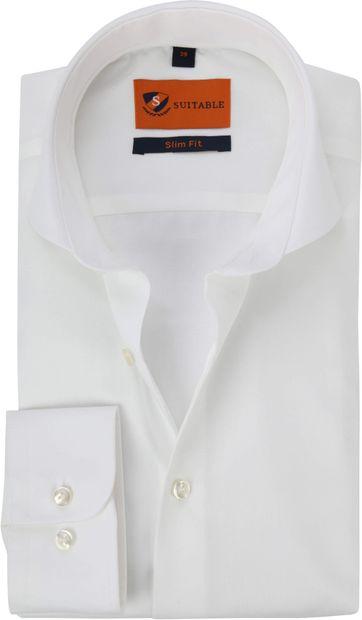 Suitable Overhemd Strijkvrij Ecru