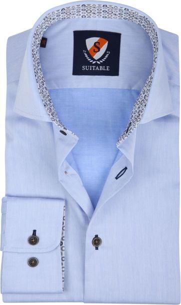 Suitable Overhemd TF Lichtblauw