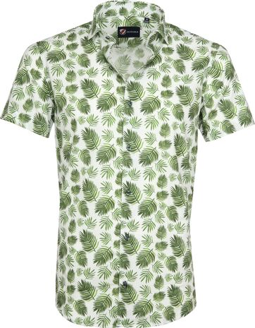 Suitable Overhemd Varen Groen