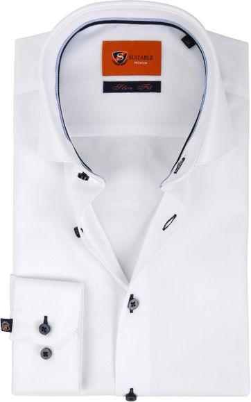Suitable Overhemd Wit D81-18