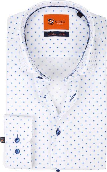 Suitable Overhemd Wit D82-03