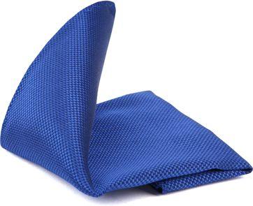 Suitable Pocket Square Blue