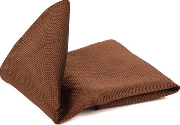 Suitable Pocket Square Brown