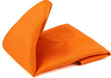 Suitable Pocket Square Orange