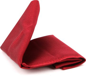 Suitable Pocket Square Red 17