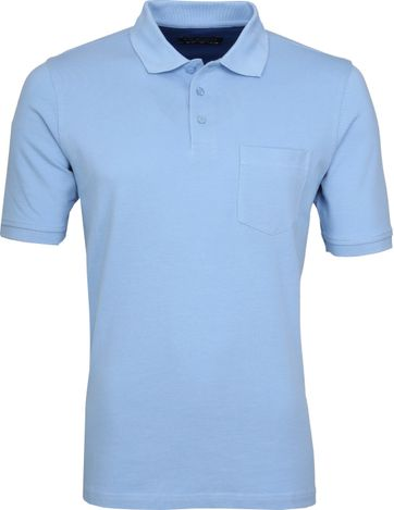 Suitable Poloshirt Boston Light Blue