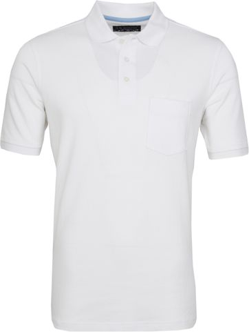 Suitable Poloshirt Boston White