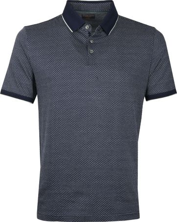 Suitable Poloshirt Jacque Dunkelblau