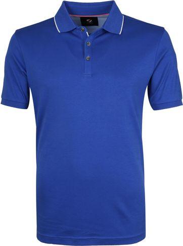 Suitable Poloshirt Liquid Blau