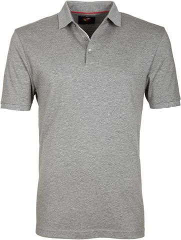 Suitable Poloshirt Liquid Grey