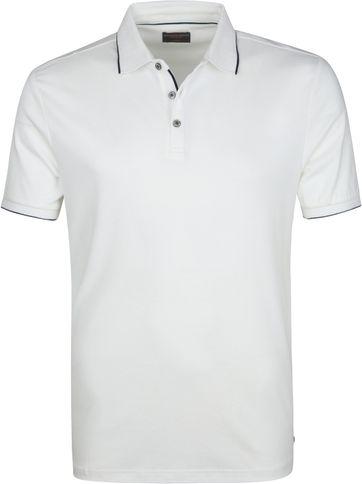 Suitable Poloshirt Liquid Jersey Weiß