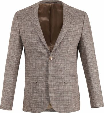 Suitable Prestige Blazer Tollegno Brown