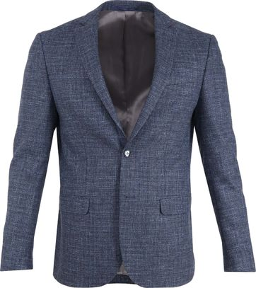 Suitable Prestige Blazer Tollegno Indigo