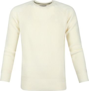 Suitable Prestige Fisherman Pullover Off-White