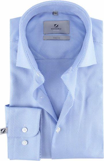 Suitable Prestige Hemd Albini Blau
