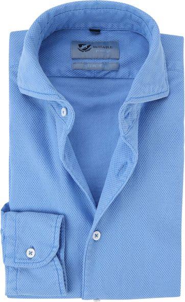 Suitable Prestige Hemd Hellblau