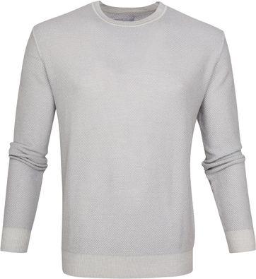 Suitable Prestige Merino Pullover Grijs