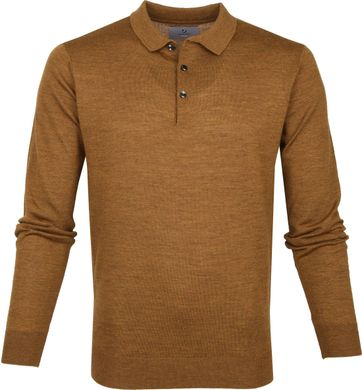 Suitable Prestige Polo Merino Bronze