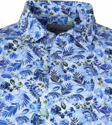 Suitable Prestige Poloshirt Blue Safari