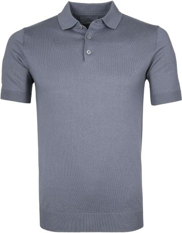 Suitable Prestige Poloshirt Grijs