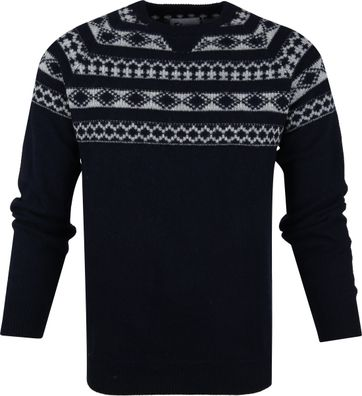 Suitable Prestige Pullover Dunkelblau