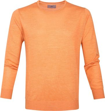 Suitable Prestige Pullover Oranje Merino