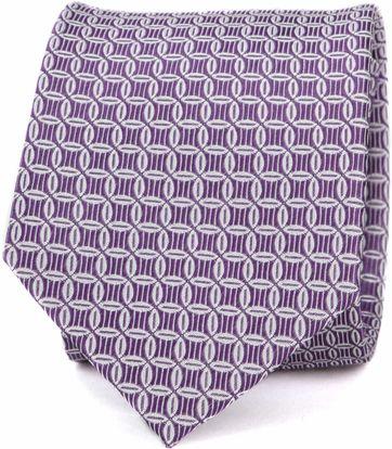 Suitable Progetto Krawatte Kreis Lila