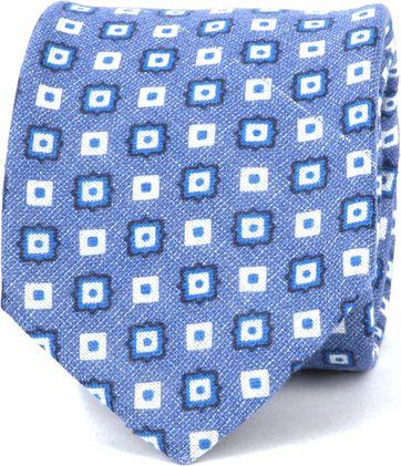 Suitable Progetto Krawatte Square Blau