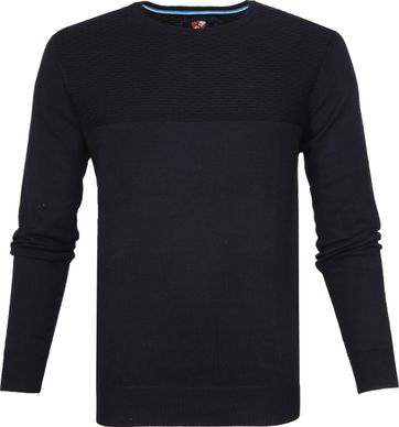 Suitable Pullover Brick Navy