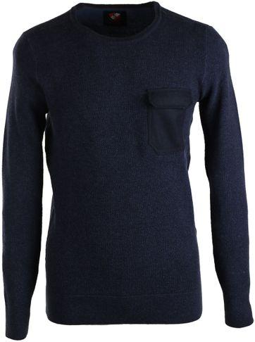 Suitable Pullover Ruud Dunkelblau