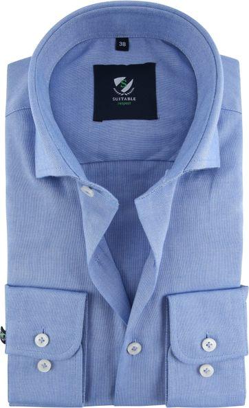 Suitable Respect Overhemd Blauw