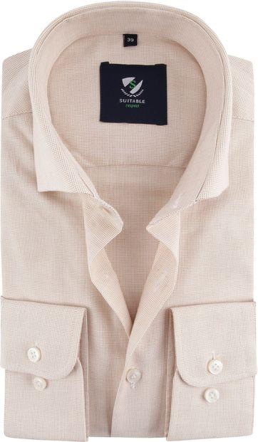 Suitable Respect Shirt Beige