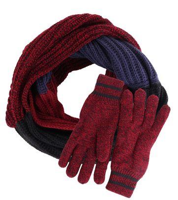 Suitable Set Kreis Schal und Handschuhe 15-10