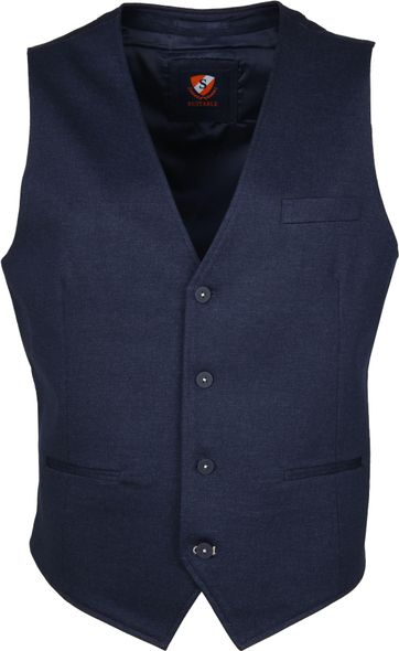 Suitable Sharpes Waistcoat Navy