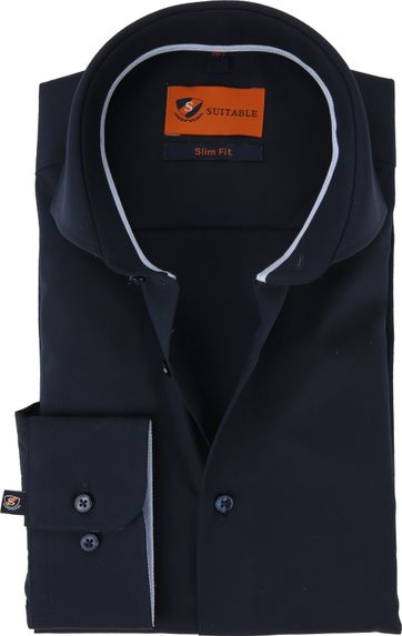 Suitable Shirt Caw Navy SL7