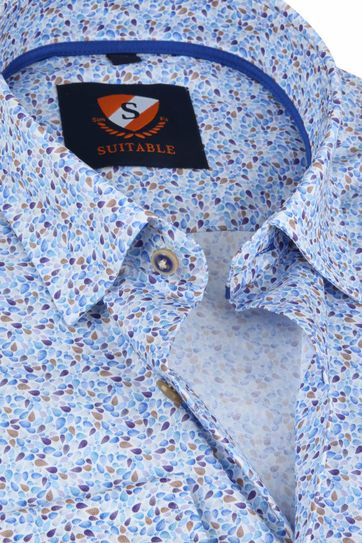 Suitable Shirt HBD Drops Blue