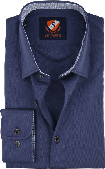 Suitable Shirt HBD Wesley Navy