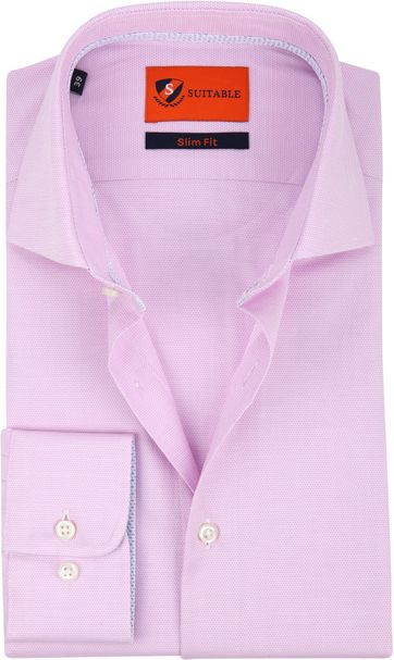 Suitable Shirt Light Pink Wesley