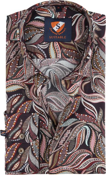 Suitable Shirt Paisley 188-3