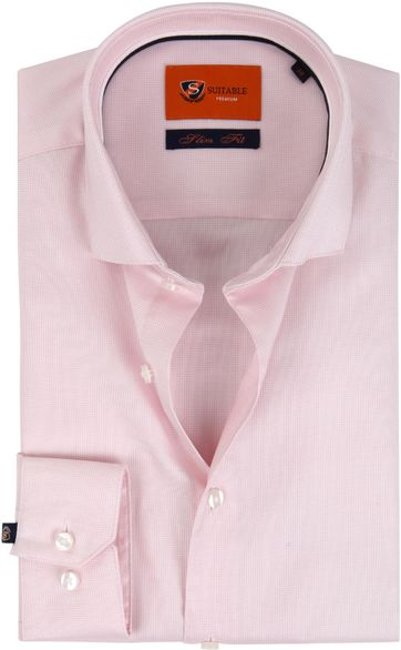 Suitable Shirt Pink D81-16