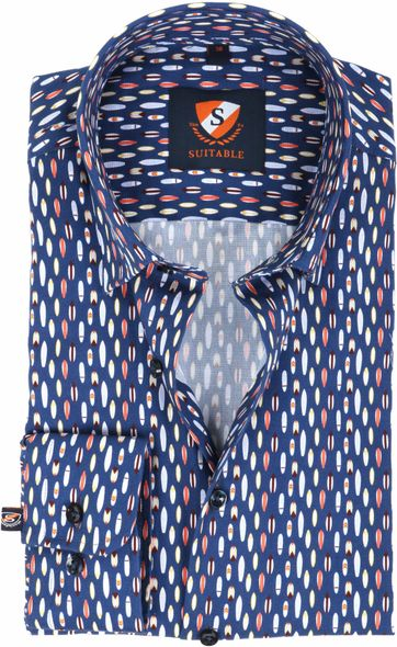 Suitable Shirt Surf Navy