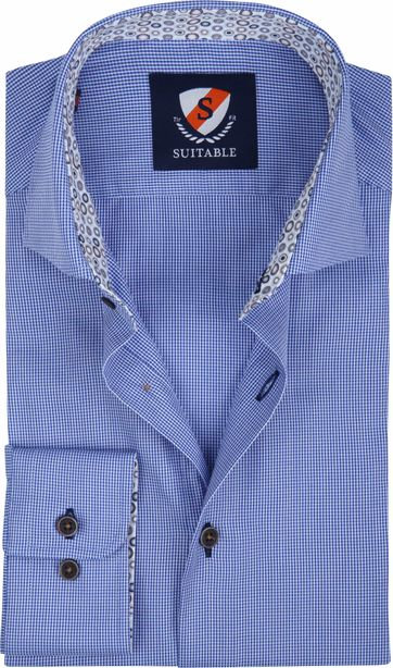 Suitable Shirt Wesley Blue