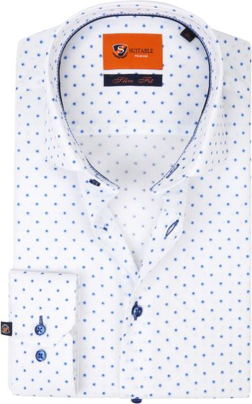 Suitable Shirt White D82-03