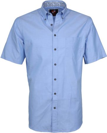 Suitable Shirt Wolf Light Blue