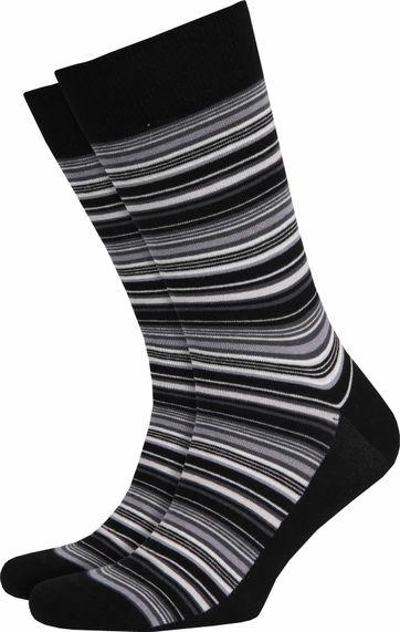 Suitable Socken Grau Streifen