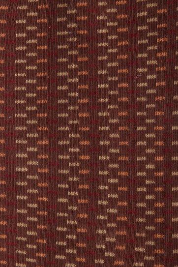 Suitable Socks Brown Stripes