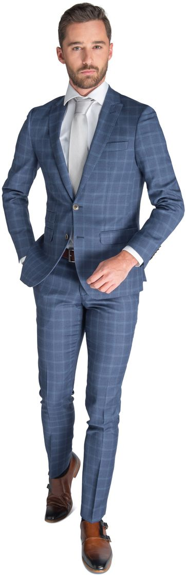 Suitable Suit Munich Blue