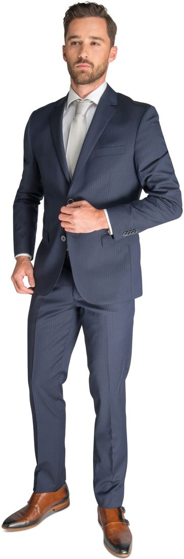 Suitable Suit Stuttgart Dark Blue